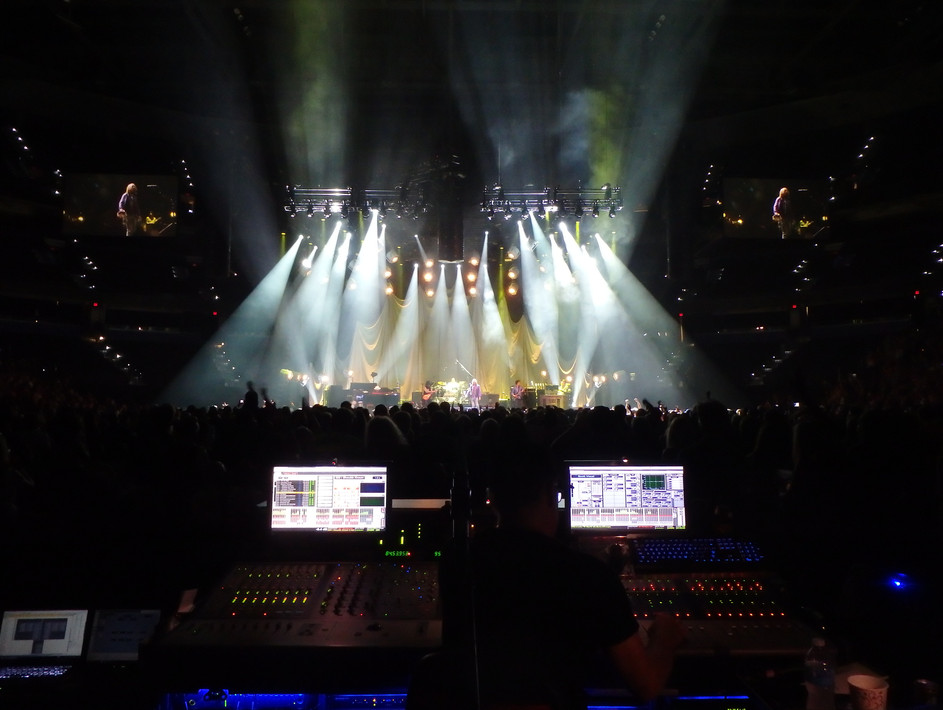 Tom Petty Concert Console View