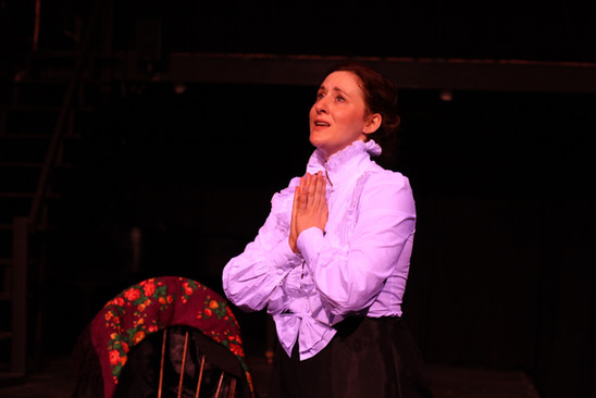 Ashley Ford as Victoria Woodhull