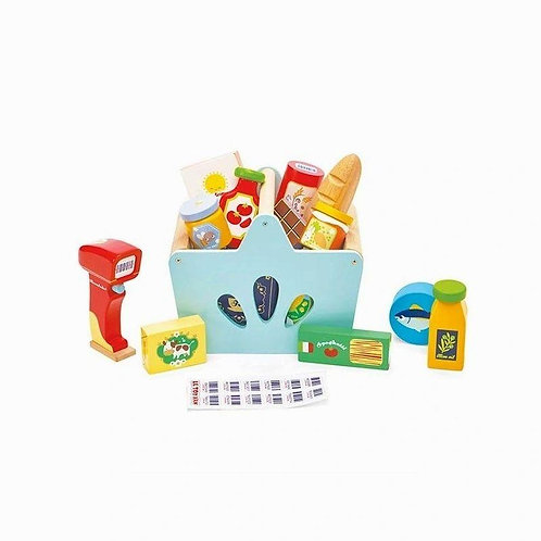 Le Toy Van Groceries & Scanner
