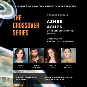 Staged Reading: Ashes, Ashes by Kevin Christopher Snipes