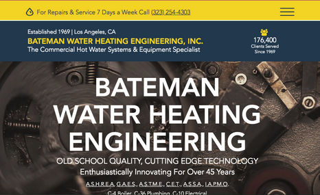 Commercial Water Heating Repair A services site for a leading commercial hot water...