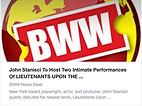 BroadwayWorld Announcement for Lieutenants Upon the Earth