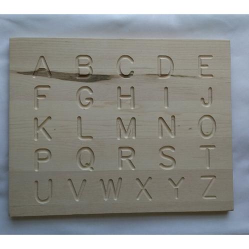 Toy Maker Of Lunenberg Alphabet Tracing Board