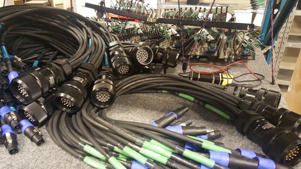 Assorted Custom Cable Assemblies