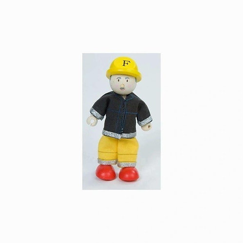 Le Toy Van Firefighter (Yellow)