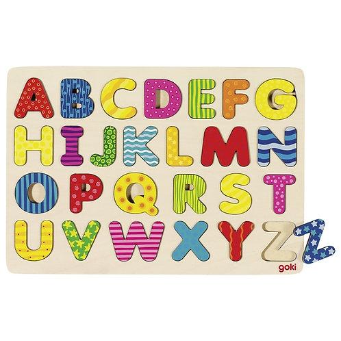 goki 57672 Alphabet puzzle