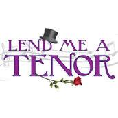 Lend Me A Tenor - Playhouse on Park