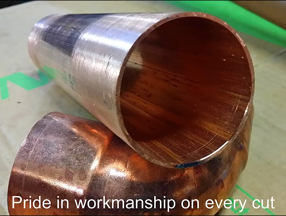 Pride in Workmanship - Copper Pipe