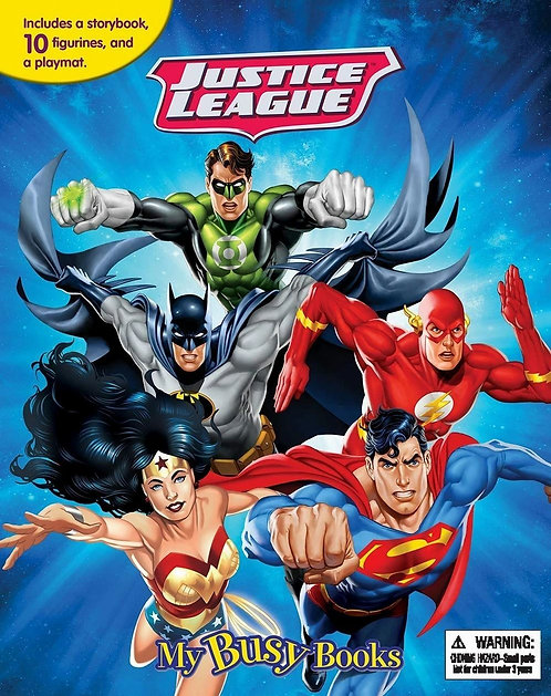 Justice League My Busy Books