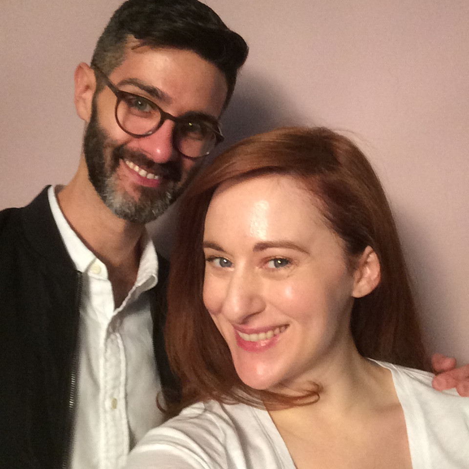 Actress Ashley Ford with Colorist Eric Muroski