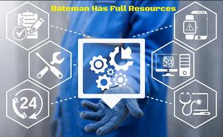 Bateman Has Full Resources