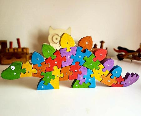 BeginAgain Dinosaur A To Z Puzzle