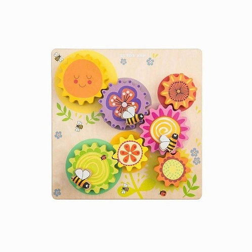Le Toy Van Gears & Cogs 'Busy Bee Learning'