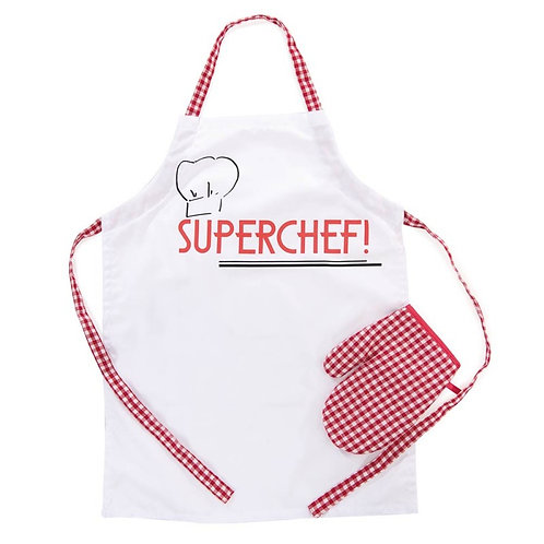 Egmont Toys SuperChef Apron & Glove