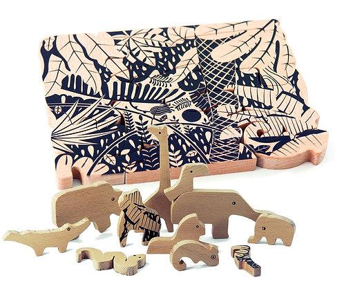 Bajo Jungle Puzzle