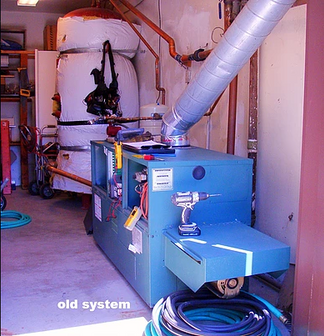 Old 750,000 BTU Boiler System Repolacement