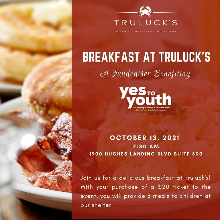 Breakfast at Truluck's Benefiting YES to YOUTH