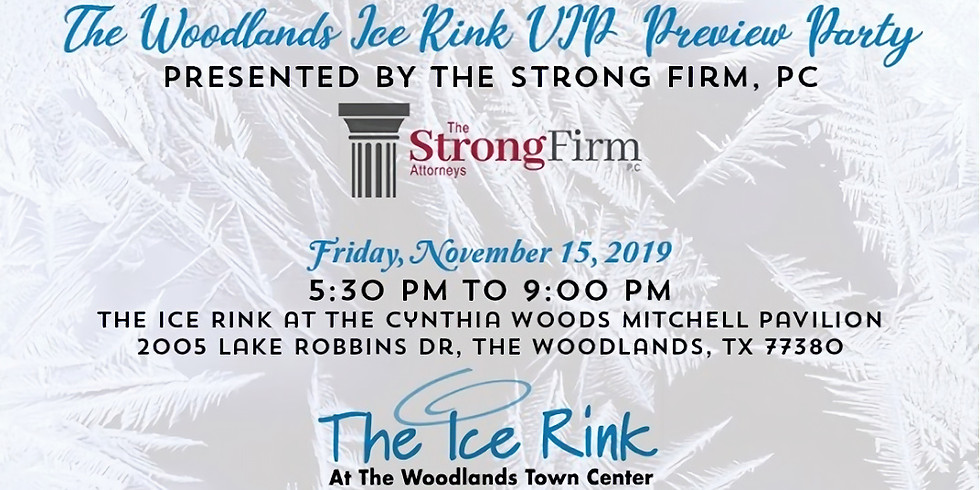 The Woodlands Ice Rink Preview Party