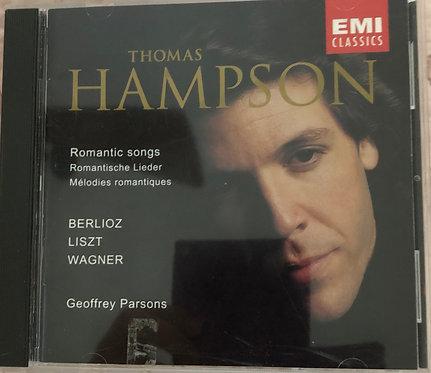 Thomas Hampson romantic songs