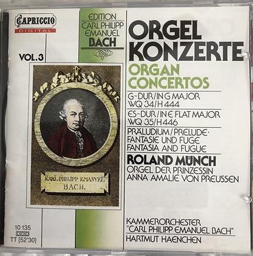 Orgel Konzerte Organ Concertos Vol 3