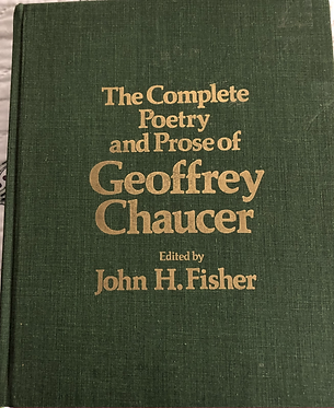 The complete Poetry and Prose of Geoffrey Chaucer