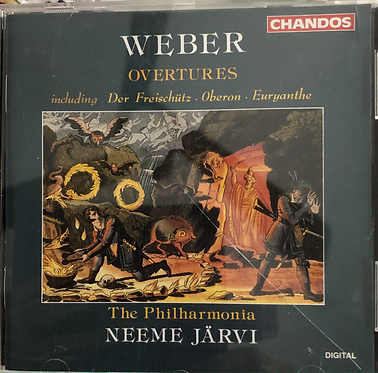 Weber Overtures