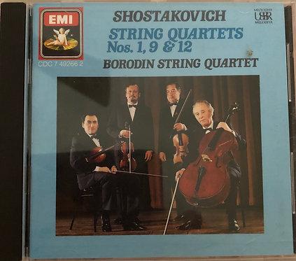 Shostakovich String Quartets Nos. 1, 9 & 12