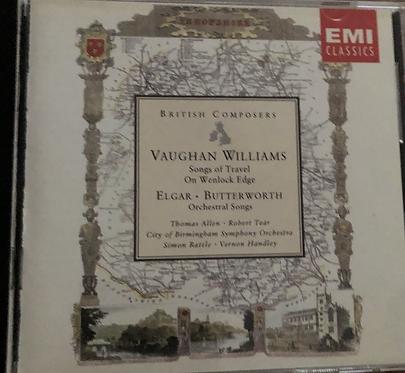 Vaughn Williams- Songs of Travel on Wenlock Edge