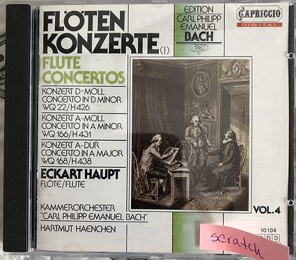 Flöten Konzerte- Flute Concertos