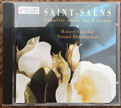 Saint-Saens Complete works for 2 pianos
