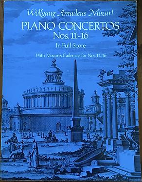 Piano Concertos Nos. 11-16 In Full Score