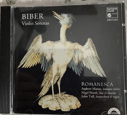 Biber Violin sonatas Romanesca