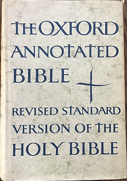 The Oxford Annotated Bible