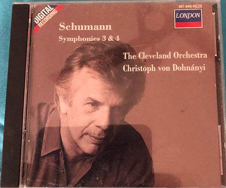 Schumann - Symphonies 3 & 4