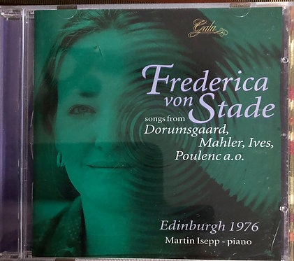 Frederica Von Stade songs from Dorumsgaard, Mahler, Ives Poulenc a.o.