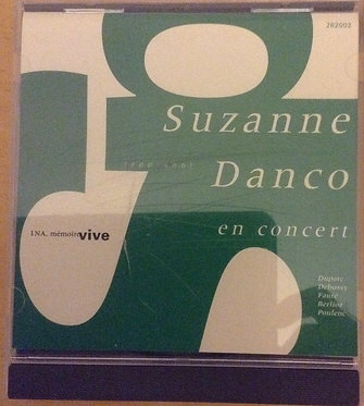 Suzanne Danco en concert