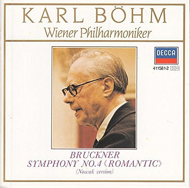 Karl Bohm Winer Philharmoniker
