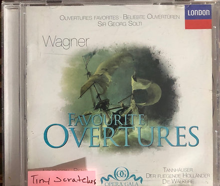 Wagner Favourite Overtures