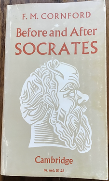 Before and After Socrates