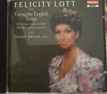 Felicity Lott Favorite English songs