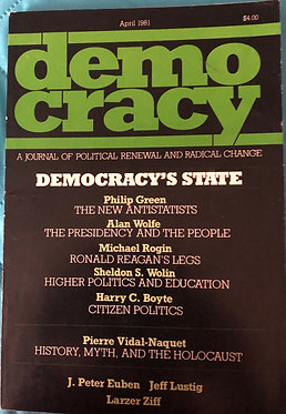 Democracy - A journal of political renewal and radical change
