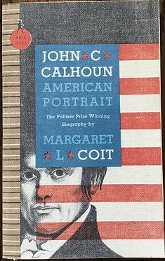 John C Calhoun American Portrait