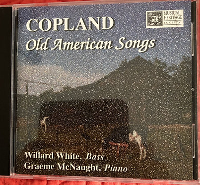 Copland Old American Songs
