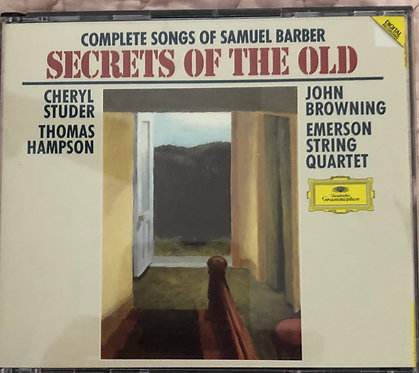 Complete Songs of Samuel Barber