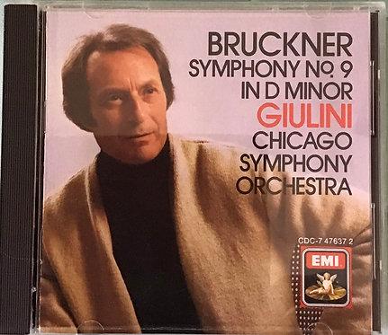 Bruckner symphony No. 9 in D Minor