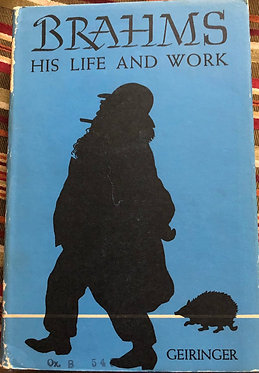 Brahms Hs Life and Work