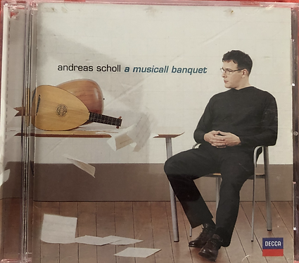 Andreas Scholl - A Musicall Banquet