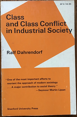 Class and Class Conflict in Industrial Society