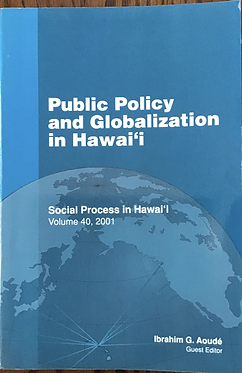 Public Policy and Globalization in Hawaii