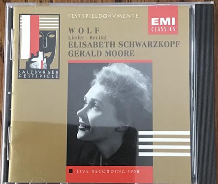 Hugo Wolf Lieder - Recital